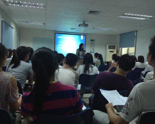 深圳秋田微有限公司企业英语培训